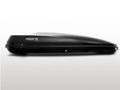 Бокс автомобильный Hapro Zenith 6.6  (191х80х37 см.) (Нидерланды) цвет: чёрный глянцевый, серебристый карбон, белый глянцевый