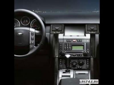 Деревянные накладки на переднюю панель для Land Rover Range Rover Sport, 2005-2009, (оригинал) (Land Rover)