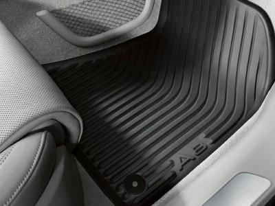 Комплект передних резиновых ковриков для Audi A8 2013-2017, 2шт. (Original) (VAG)