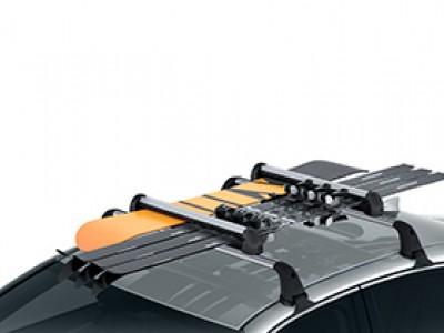 Крепление для лыж или сноуборда, 6 пар, тип крепления Т-слот для Lexus NX 2014-н.в., (оригинал) (Lexus)
