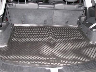Коврик в багажник Novline для ACURA MDX 2007-2010 (полиуретан; черный; серый; бежевый)