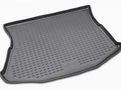 Коврик в багажник Novline для ALFA ROMEO 147 3D 2000-2010 (полиуретан, черный; серый)