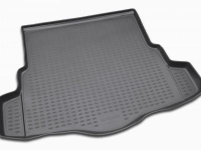 Коврик в багажник Novline для ALFA ROMEO 159 2005-2010, сед. (полиуретан; чёрный; серый)