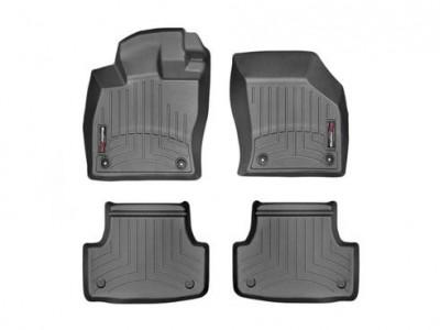 Коврики в салон 3D WeatherTech для автомобиля Audi A3/ S3 2016-н.в. , комплект:4  шт.