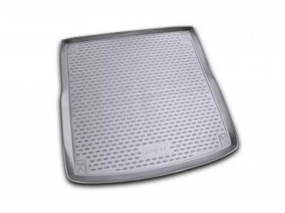 Коврик в багажник Novline для AUDI A-4 allroad 2007-2015, ун. (полиуретан; чёрный; серый)