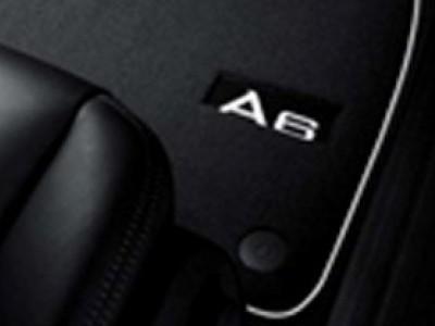 Коврики в салон (VAG) для Audi A6 C6 2004-2011, 4 шт. (текстиль, чёрные)