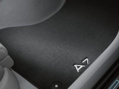 Коврики в салон (VAG) для Audi A7 2010-н.в., 4 шт. (текстиль, чёрные)