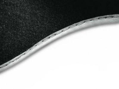 Коврики в салон (VAG) для Audi A8 D3 Long 2002-2010, 4 шт. (текстиль, чёрные)