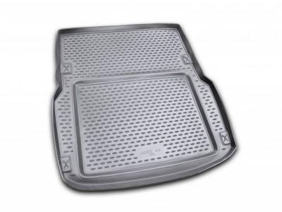 Коврик в багажник Novline для AUDI A-8 Long 2002-2010, сед. (полиуретан; чёрный)