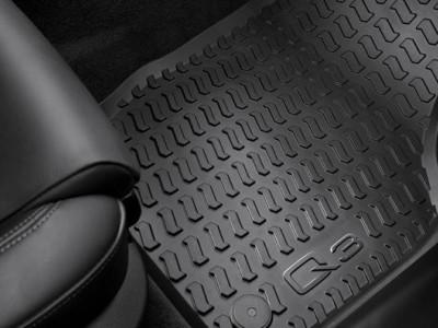 Комплект передних резиновых ковриков для Audi Q3 2011- н.в. 2шт. (Original) (VAG)