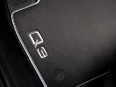 Коврики в салон (VAG) для Audi Q3 2011-н.в., 4 шт. (текстиль, чёрные)