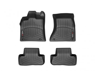 Коврики в салон 3D WeatherTech для автомобиля Audi Q5 2016-н.в., комплект: 5 шт.