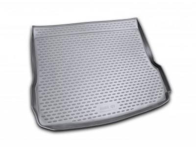 Коврик в багажник Novline для  AUDI Q5 2008-2016, кросс. (полиуретан; чёрный; бежевый)