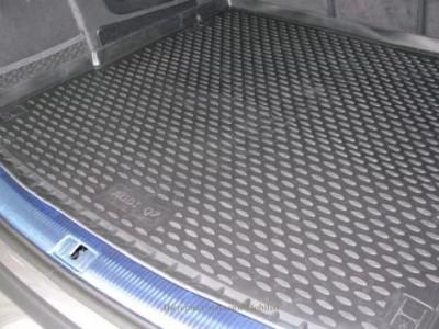 Коврик в багажник Novline для AUDI Q7 2005-2015, кросс. (полиуретан; чёрный; серый; бежевый)