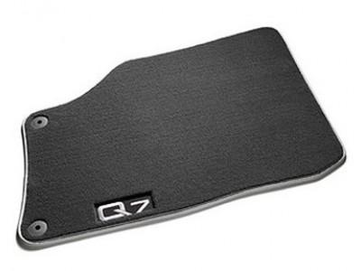 Коврики в салон (VAG) для Audi Q7 2005-2015, 4 шт. (текстиль, чёрные)