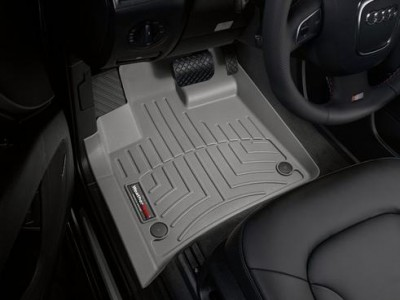 Коврики в салон 3D WeatherTech для автомобиля Audi Q7 2005-2015, комплект: 3 шт.