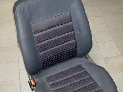 Оригинальные модельные чехлы на сидения для автомобиля Audi 100 C4 седан/ универсал/ рекаро 1991-1994 (материал: твид, кожзам; любые тона)