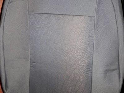 Оригинальные модельные чехлы на сидения для автомобиля Audi A4 седан/ универсал/ рекаро 2000-2005 (материал: твид, кожзам; любые тона)