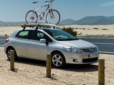 Багажники CRUZ AT (Испания) (108, 118, 128см) (поперечены 2 шт., алюминий, c креплением за дверной проём)