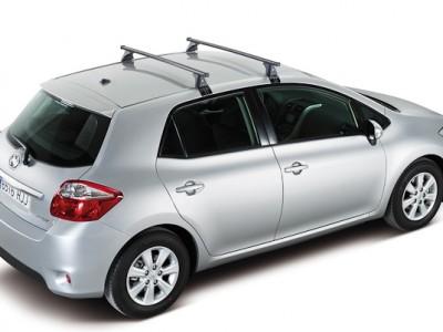 Багажники CRUZ ST (Испания) (108, 118, 128см) (поперечены 2 шт., сталь, c креплением за дверной проём)