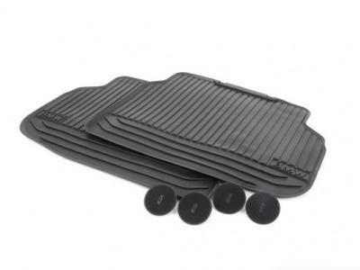 Комплект задних ножных ковриков для BMW F01 7-серия 2008-2015 (Orig)