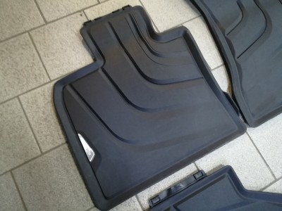 Комплект передних резиновых ковриков для BMW X5 F15 2013- н.в. 2шт. (Original) (VAG)