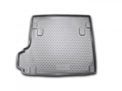 Коврик в багажник Novline для  BMW X3 (Е 83) 2003-2010, кросс. (полиуретан; черный; серый)