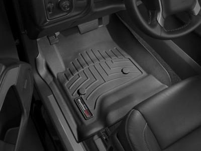 Коврики в салон 3D WeatherTech для автомобиля Cadillak Escalade ESV (Silverado) 2014-н.в., комплект: 3 шт.