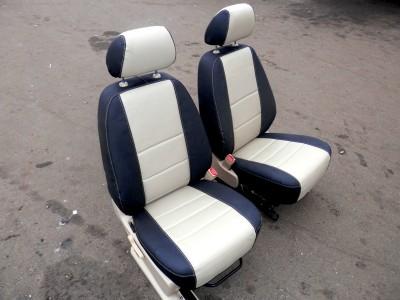 Оригинальные модельные чехлы на сидения для автомобиля Land Rover Range Rover 2002-2005 (материал: твид, кожзам; любые тона)
