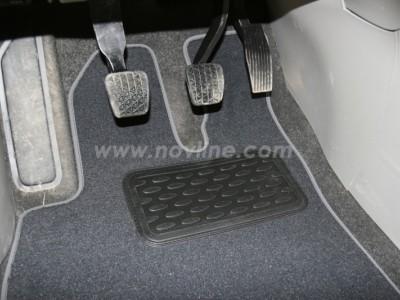 Коврики в салон (Novline) для Chevrolet Orlando 2011-н.в., 6 шт. (текстиль, чёрные, серые, бежевые)