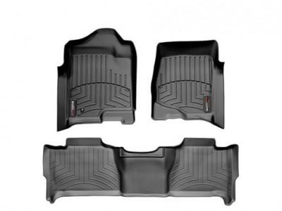 Коврики в салон 3D WeatherTech для автомобиля Chevrolet Tahoe 2006-2014 LTZ, комплект: 3 шт.