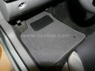 Коврики в салон (Novline) для Chrysler 300C 2004-2010, 4 шт. (текстиль, чёрные, серые, бежевые)