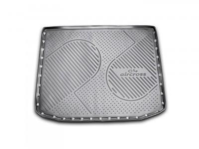 Коврик в багажник Novline для  CITROEN C4 Aircross, 2011-н.в., кросс. (полиуретан, чёрный)