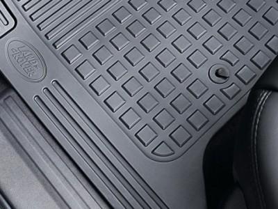 Комплект резиновых ковров для Land Rover Discovery IV, 2009-2016, (оригинал) (Land Rover)