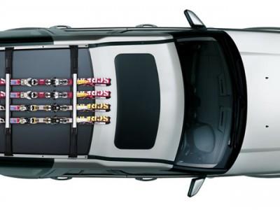 Багажник для лыж и сноуборда для Land Rover Discovery IV, 2009-2016, (оригинал) (Land Rover)