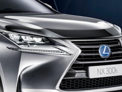 Дефлектор капота для Lexus NX 2014-н.в., (оригинал) (Lexus)