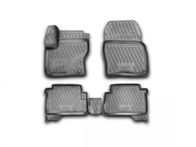 Коврики в салон для Ford Kuga, 2012-н.в. 4 шт. (полиуретан) Novline