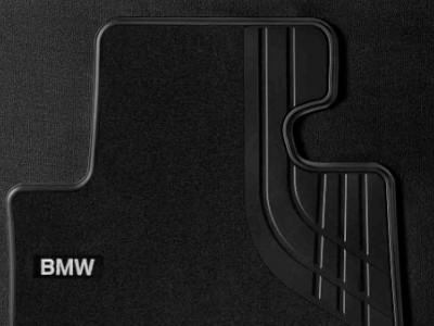 Велюровые коврики для BMW F32 4-серия, передние для автомобилей с полным приводом (BMW) (Original)