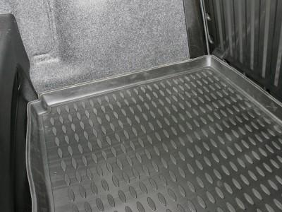 Коврик в багажник Novline для  FIAT Grande Punto 2005-н.в., хб. (полиуретан, чёрный, серый, бежевый)