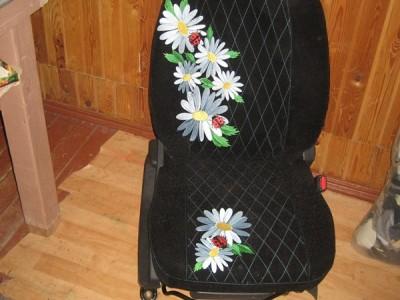 Оригинальные модельные чехлы на сидения для автомобиля Fiat Punto 1993-2006 (материал: твид, кожзам; любые тона)