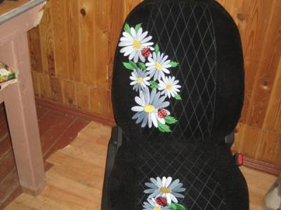 Оригинальные модельные чехлы на сидения для автомобиля Nissan Almera II 2000-2006  (материал: твид, кожзам; любые тона)