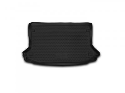 Коврик в багажник Novline для  FORD Ecosport, 2013-н.в., кросс. 1 шт. (полиуретан, чёрный)