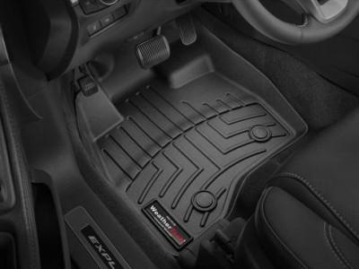 Коврики в салон 3D WeatherTech для автомобиля Ford Explorer 2015-н.в., комплект: 3 шт.