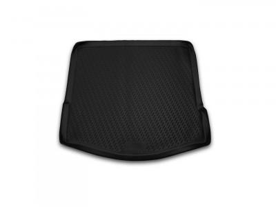 Коврик в багажник Novline для  FORD Focus II 2004-2010, сед. (полиуретан, чёрный)
