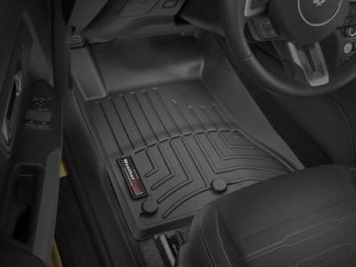 Коврики в салон 3D WeatherTech для автомобиля Ford Mustang 2014-н.в., комплект: 4 шт.