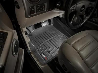 Коврики в салон 3D WeatherTech для автомобиля Hummer H2 2002-2007 , комплект: 3 шт.