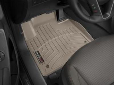 Коврики в салон 3D WeatherTech для автомобиля Hyundai Santa Fe 2012-н.в., 3 ряда, комплект: 4 шт.