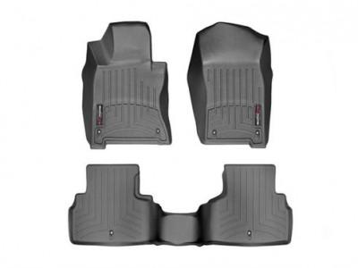 Коврики в салон 3D WeatherTech для автомобиля Infiniti Q50 2013-н.в., комплект: 3 шт.