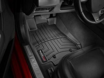 Коврики в салон 3D WeatherTech для автомобиля Jaguar XF 2007-2015, комплект: 4 шт.