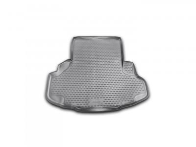 Коврик в багажник Novline для  JAGUAR XF, 2007-2015 сед., 1 шт. (полиуретан, чёрный)